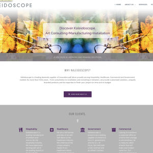 Web Design: Kaleidoscope Framing
