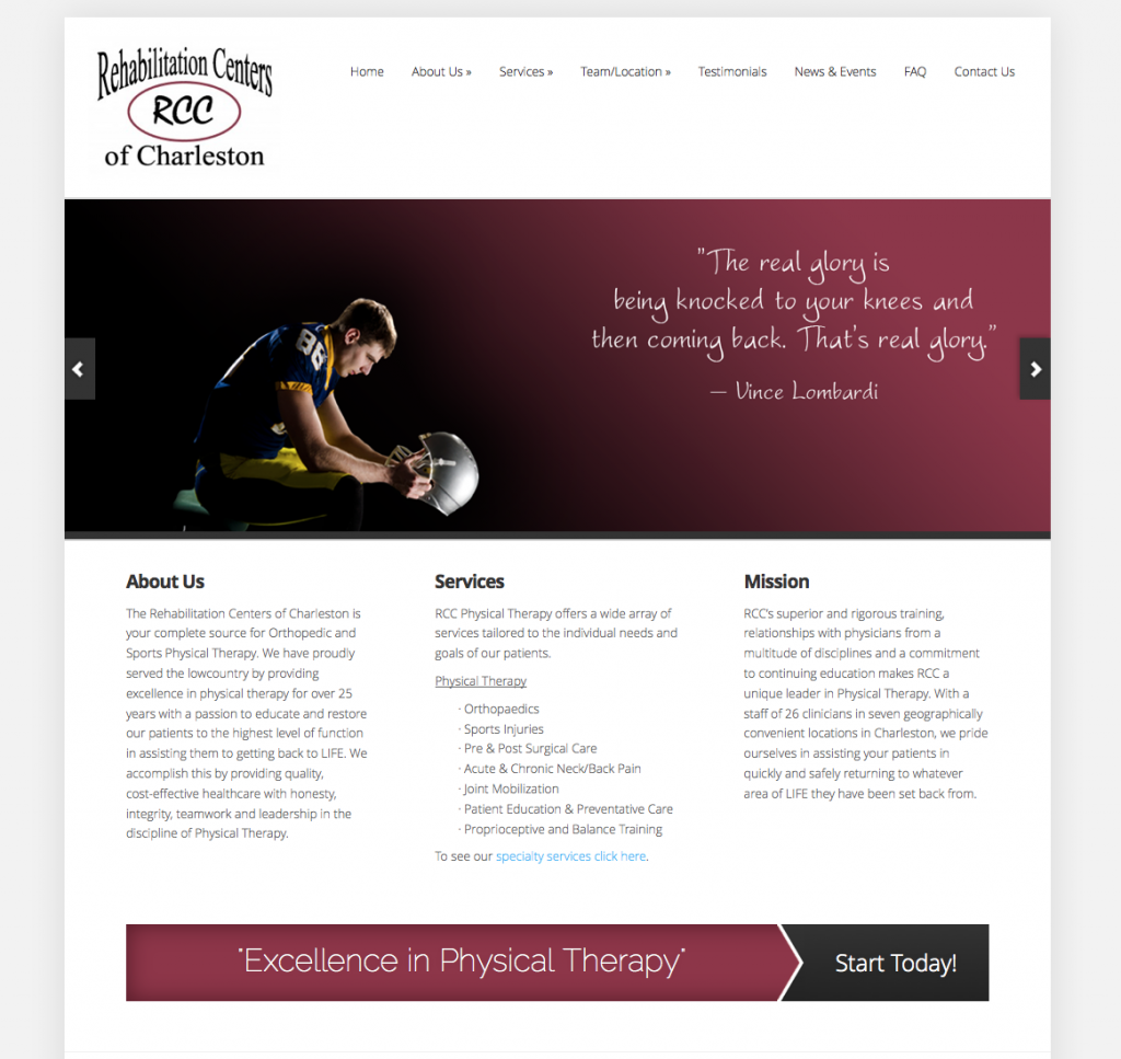 Branding, Web Design, SM: RCC Therapy