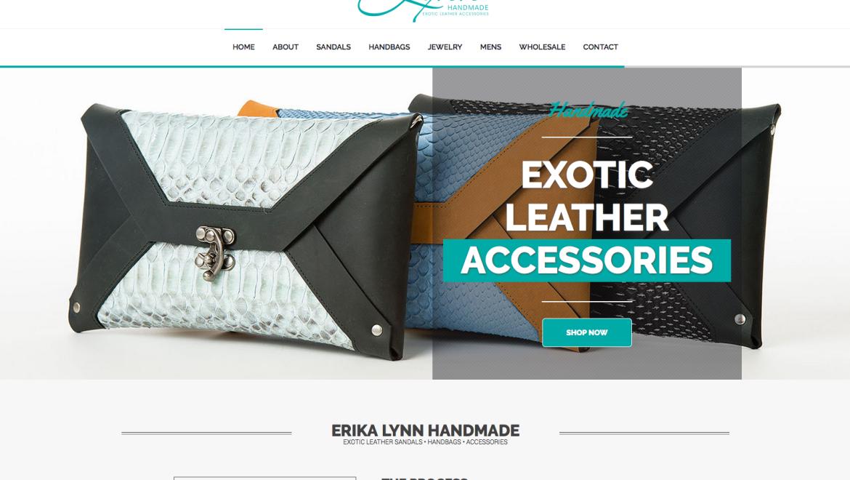 Web Design: Erika Lynn Handmade