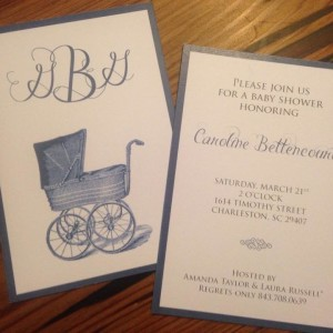 Baby Invitation: Bettencourt
