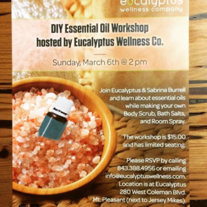Branding, Graphic: Eucalyptus Wellness