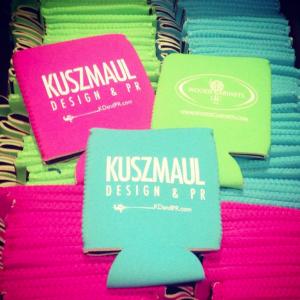 Branding: Kuszmaul Koozies