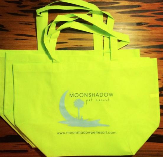 Branding, Graphic: Moonshadow Pet Resort Bags