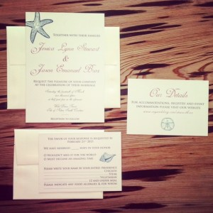 Wedding Invitations & Thank You Cards: Broz