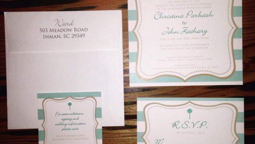 Wedding Invitations: Ward