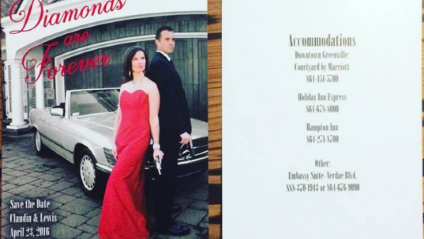 Save the Date: Claudia & Lewis