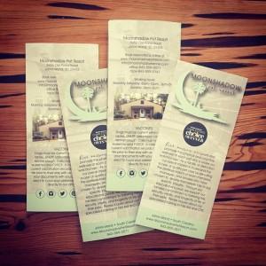 Branding: Moonshadow Pet Resort Brochure