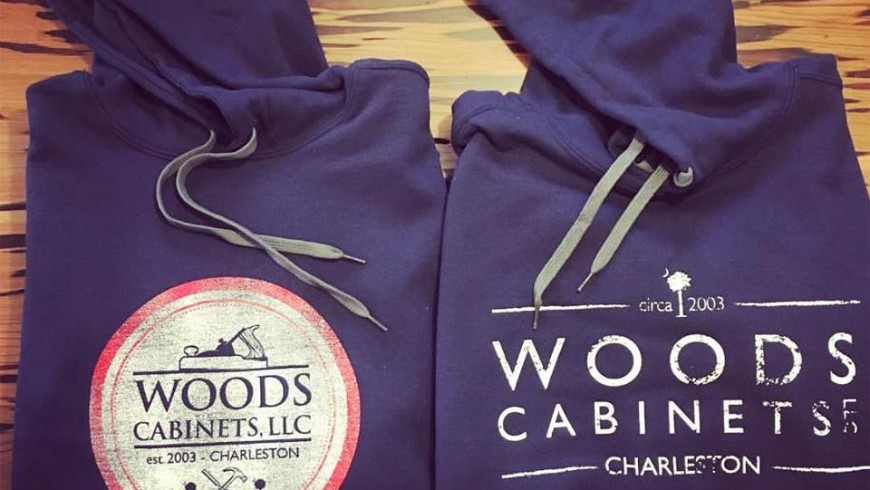 Branding: Woods Cabinets Sweatshirts