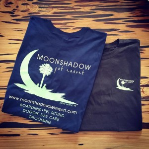 Branding: Moonshadow Pet Resort T-Shirts